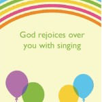 happy birthday god rejoices over you