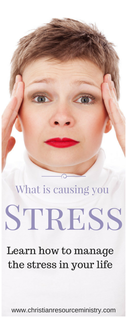 Stress leads to negative thinking: Renew Your Mind in Truth