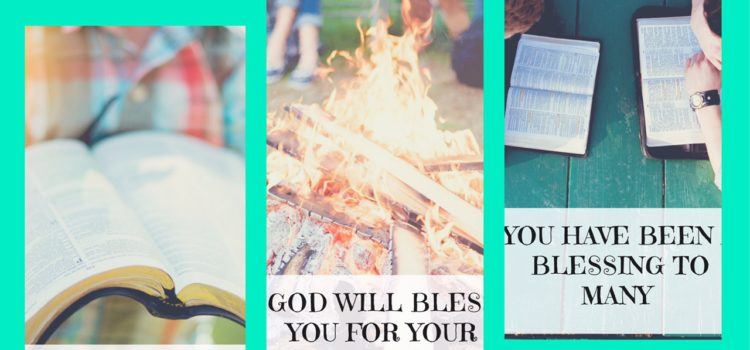 3 printable thank you cards for those serving the Lord
