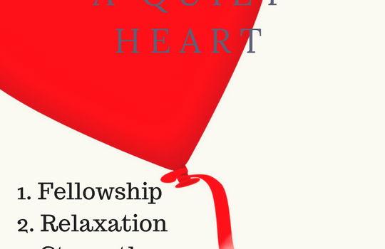5 Purposes of Developing a Quiet Heart & Giveaway